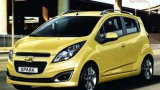 2013 Chevrolet Beat Facelift - Official images revealed