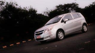 Chevrolet Sail U-VA launched in Jammu