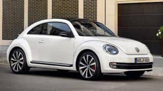 Volkswagen will unveil diesel Beetle at Chicago Motor Show