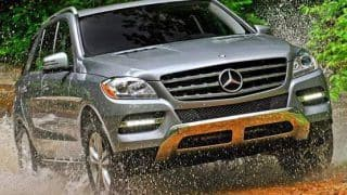 Official - Mercedes Benz M-Class and GL-Class to be assembled in India