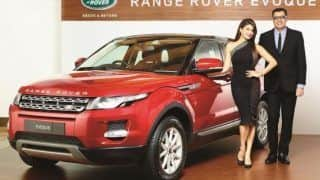 Ranger Rover Evoque 2015: JLR introduces locally assembled Range Rover Evoque at INR 48.73 lakh in India