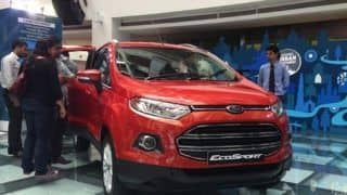 Ford EcoSport variant-wise information leaked