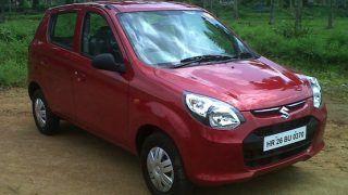 Big discounts being offered in December; Rs 16,000 off on Maruti Suzuki Alto 800