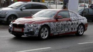 Production-ready BMW 4-Series caught on camera