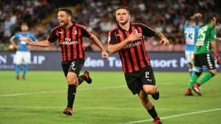 Sassuolo vs AC Milan Live Streaming, Serie A 2018-19, Preview, Team News, Timings IST, When And Where to Watch Online