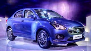 Maruti Suzuki Dzire 2017 clocks 12049 unit sales in June 2017