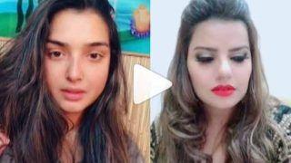 आम्रपाली दुबे ने मधु शर्मा से कुछ ऐसा पूछा कि नम हो गईं दोनों की आंखें, देखें Video