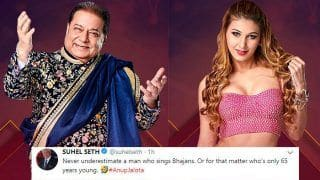 Bigg Boss 12 Contestant Anup Jalota Trolled For His Relationship With Jasleen Matharu, Becomes Popular Already