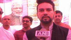 दिल्ली के CEO कार्यालय ने अनुराग ठाकुर के रैली प्रकरण पर जिला चुनाव अधिकारी से रिपोर्ट मांगी