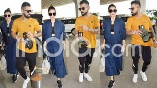 Anushka Sharma - Virat Kohli Latest Pics Out: The Star Couple Clicked at Airport in Style