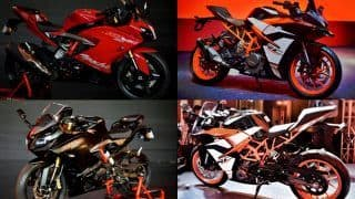 TVS Apache RR 310 (Akula) VS KTM RC 390 - Price in India, Specifications, Dimensions, Top Speed, Features - Comparison