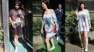 In Pics: Arbaaz Khan And Rumoured Girlfriend, Giorgia Andriani, Take Arhaan Khan Out For Lunch
