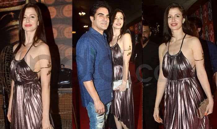 Image result for arbaaz khan with girlfriend, india.com