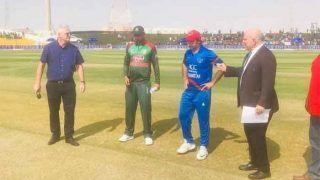 BANvsAFG: अफगानिस्तान ने टॉस जीतकर लिया बैटिंग का फैसला, बांग्लादेश ने प्लेइंग इलेवन में किए 3 बदलाव
