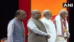 When Amit Shah Stood Next to The Bereaved Family of Arun Jaitley For Nearly 4 Hours