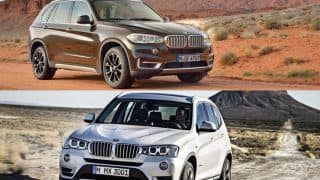 BMW X3 xDrive28i and X5 xDrive35i launched in India
