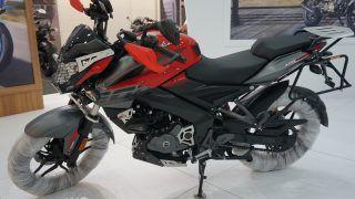 Bajaj Pulsar NS 200 Adventure Version Showcased at Motobike Istanbul 2018
