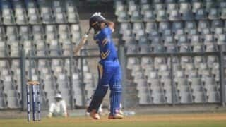 Vijay Hazare Trophy: Mumbai Defeat Baroda by Nine Wickets
