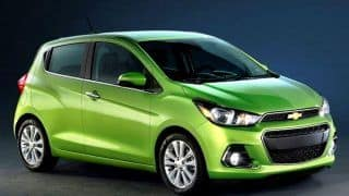 New Chevrolet Beat 2017 spotted sans camouflage; India launch in 2017