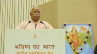 RSS Has no Influence on Government's Policies, Says Mohan Bhagwat