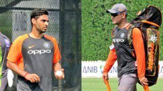 Asia Cup 2018: MS Dhoni, Rohit Sharma, Bhuvneshwar Kumar, Ambati Rayudu Train Hard During Team India's Practice Session on Day 1 in Dubai | SEE PICS