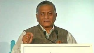 General VK Singh Takes Dig at Pakistan PM, Says Let's Wait to See if Imran Khan Remains Under Army's Control