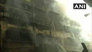 Fire in Kolkata's Bagri Market Continues to Rage, Collapse Feared as Cracks Emerge in Building