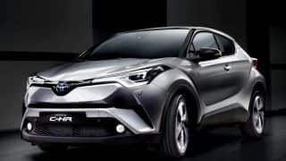 Toyota C-HR crossover SUV India launch by 2018