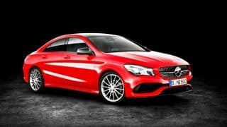 2017 Mercedes-Benz CLA facelift launched in India; Priced at INR 31.40 lakh