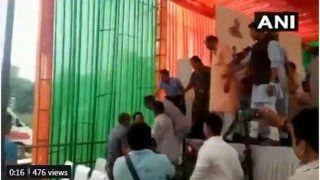 राजस्थान: सीएम राजे की मौजूदगी में मंच पर ही भिड़ गए दो भाजपा नेता, देखें VIDEO