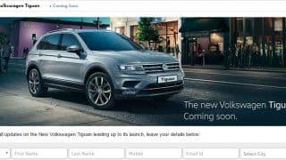 2017 Volkswagen Tiguan micro site goes live ahead of official launch this year