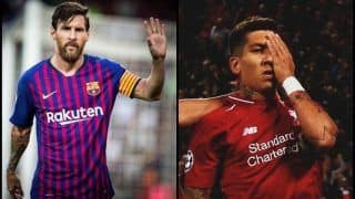 UEFA Champions League 2018-19: Roberto Firmino Stuns Paris Saint-Germain as Messi's Routine Hat-trick Marks Start of Champions League--WATCH GOALS