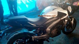 Bajaj Dominar 400 ABS variant spied; Images leaked ahead of launch