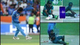 India vs Pakistan, Asia Cup 2018: Kuldeep Yadav Snares Fakhar Zaman to Jolt Pakistan in Super Four Clash, Replays Shows Batsman Was Not Out | WATCH