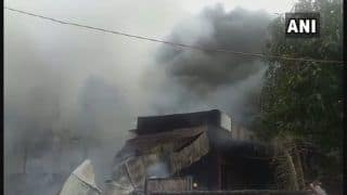 Aurangabad: Fire Breaks Out in Cooler Factory in Chikalthana MIDC Area, 15 Fire Tankers Rushed to Spot