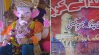 Ganesh Chaturthi 2018: Muslims, Hindus Perform Azaan And Aarti in Same Pandal at Thane