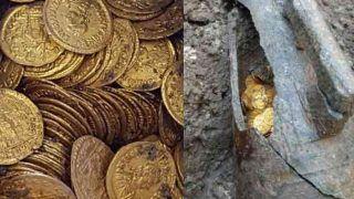 इटली में 150 साल पुराने थियेटर के नीचे हो रही थी खुदाई, मिला सोने का खजाना