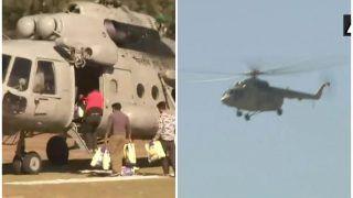 हिमाचल प्रदेश के लाहौल एवं स्पीति में फंसे 300 लोगों को सुरक्षित बचाया गया