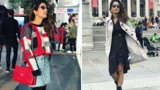 Bigg Boss 11 Finalist Hina Khan Looks Hot She Poses in London During Her Family Vacation - View Pictures