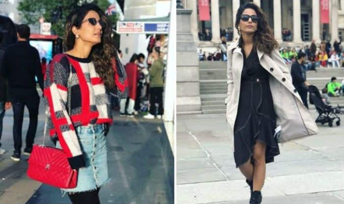 Bigg Boss 11 Finalist Hina Khan Looks Hot She Poses In London During