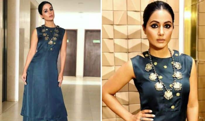 Bigg Boss 11 Contestant And Television Hotness Hina Khan Raises The