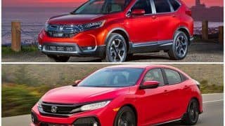 Honda Civic, 2018 Honda CR-V, New Amaze & HR-V to Debut at Auto Expo 2018