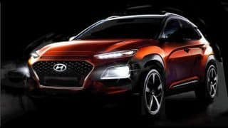 Hyundai Kona Compact SUV official images further reveal exterior design; India launch not likely