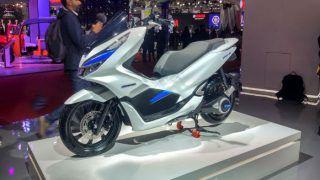 Honda PCX Electric Concept Showcased in India at Auto Expo 2018