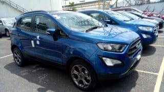 New 2017 Ford EcoSport Facelift Images Emerge Ahead of India Launch; Expected Price, Bookings, Interior, Specs, Features