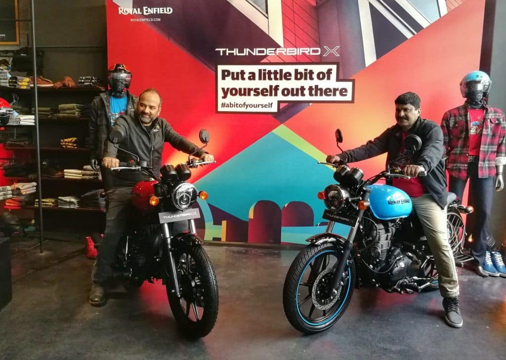 Royal Enfield Thunderbird 350X, 500X Launched in India - Launch Highlights