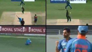 VIDEO: केदार जाधव ने पक़ड़ा 'कैच ऑफ द मैच', देखें किस तरह लिटन दास को किया आउट