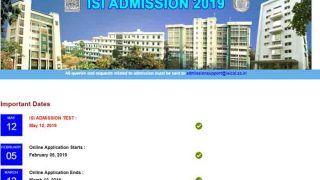 ISI Admissions 2019: isical.ac.in पर शेड्यूल जारी, फरवरी 2019 से रजिस्ट्रेशन शुरू