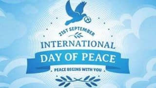 The International Day of Peace 2020: Date, History And Significance of This Day