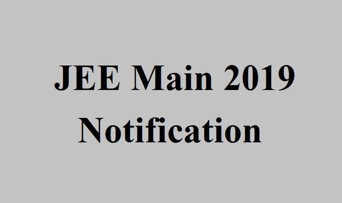 JEE (Main) 2019 April Examination Dates Out. Check it at jeemain.nic.in